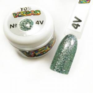 Ультраблестящий гель-лак VEGAS от Yo!Nails, цвет V4