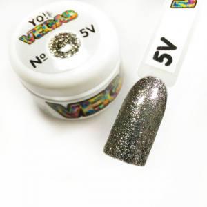 Ультраблестящий гель-лак VEGAS от Yo!Nails, цвет V5