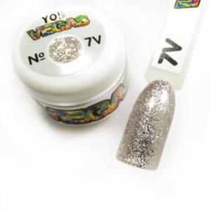 Ультраблестящий гель-лак VEGAS от Yo!Nails, цвет V7