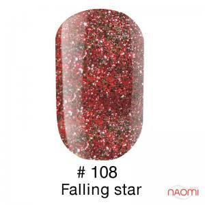 Гель-лак Naomi 108 Falling Star, 6 мл