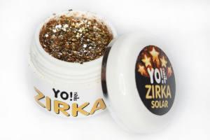 Глиттерный гель-лак ZIRKA SOLAR