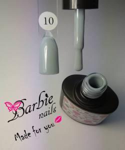 Гель-лак Barbie Nails №10 серо-синий