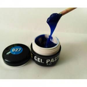 Гель паста mett №027 5мл синяя