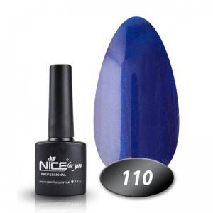 Гель-лак Nice 8.5мл № 110 ультрамарин