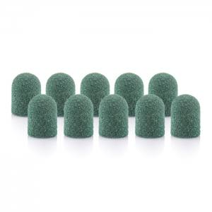 Колпачок песочный педикюрный зеленый 80грит