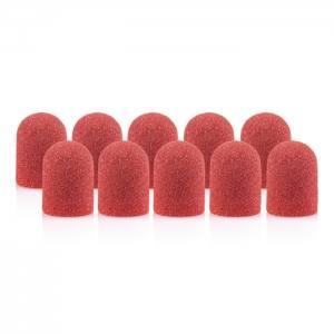 Колпачок песочный педикюрный красный 120грит