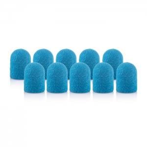 Колпачок песочный педикюрный синий 180грит