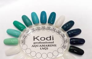 Гель лак Kodi Basic Collection 8 мл AQ 110  бутылочный зеленый