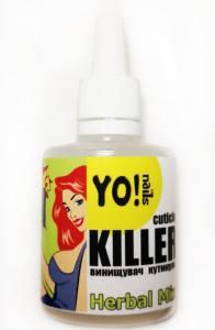 › Ремувер, уничтожитель кутикулы Yo!nails CUTICLE KILLER Herbal Mix
