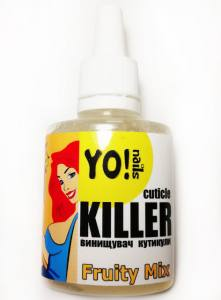 Ремувер, уничтожитель кутикулы Yo!nails CUTICLE KILLER Fruity Mix
