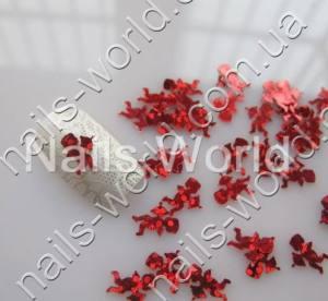 Купидончики для дизайна ногтей красные