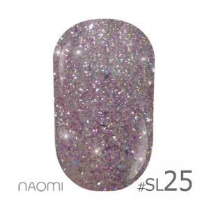 Гель-лак Naomi Self Illuminated SI №25, 6 мл