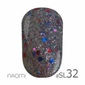 Гель-лак Naomi Self Illuminated SI №32, 6 мл