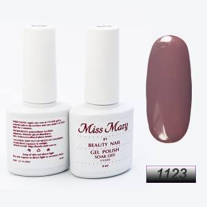 Гель-лак Miss Mary 8ml № 1123 ( розово-коричнево-серый )