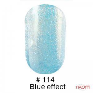 Гель-лак Naomi 114 Blue Effect, 6 мл