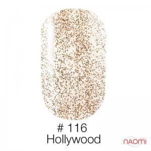 Гель-лак Naomi 116 Hollywood, 6 мл