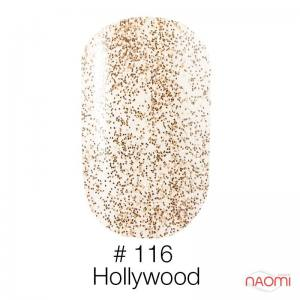 Гель-лак Naomi 116 Hollywood, 6 мл