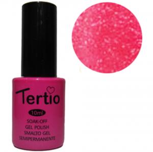 Гель-лак Tertio №117 кислотно-розовый с микроблеском 10мл