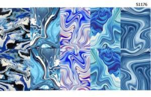 Слайдер водный на прозрачной пленке S1176