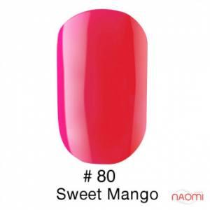 Гель-лак Naomi Gel Polish 80 - Sweet Mango, 6 мл