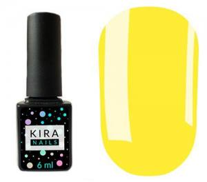 Гель-лак Kira Nails №073 (светло-желтый, эмаль), 6 мл