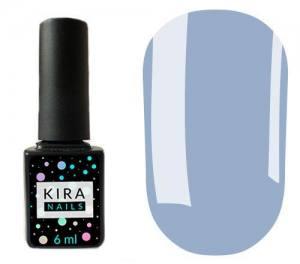 Гель-лак Kira Nails №083 (бледно-васильковый, эмаль), 6 мл