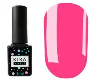 Гель-лак Kira Nails №100 (приглушенная розовая фуксия, эмаль), 6 мл