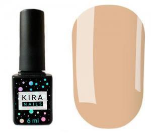Гель-лак Kira Nails №110 (какао, молочный шоколад, эмаль), 6 мл