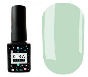 Гель-лак Kira Nails №131 (аквамариновый, эмаль), 6 мл