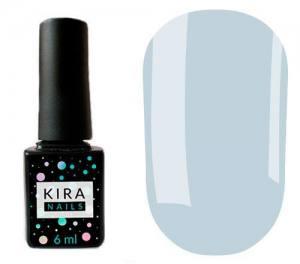 Гель-лак Kira Nails №132 (нежно-голубой, эмаль), 6 мл
