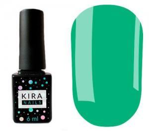 Гель-лак Kira Nails №137 (нефритовый, эмаль), 6 мл