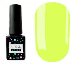 Гель-лак Kira Nails №138 (желтый, эмаль), 6 мл