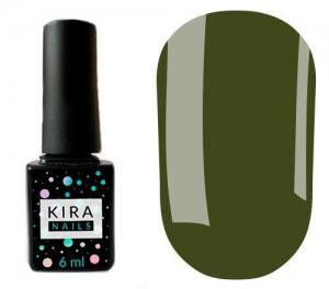 Гель-лак Kira Nails №146 (оливковый, эмаль), 6 мл