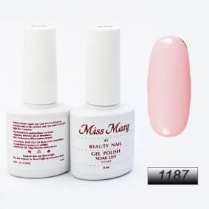Гель-лак Miss Mary 8ml № 1187 ( розовый )