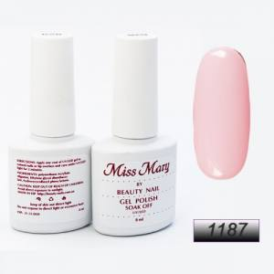 Гель-лак Miss Mary 8ml № 1187 ( розовый )