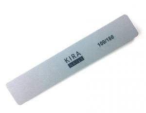 Шлифовщик Kira Nails прямоугольный, 17,8 см, 100/180