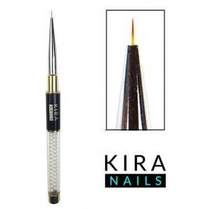 Кисть для тонких линий Kira Nails Liner 9мм (Nylon)