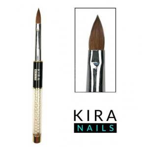 Кисть Kira Nails Acrylic 10 для акрила (Kolinsky)