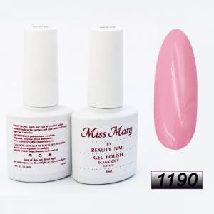 Гель-лак Miss Mary 8ml № 1190 (розовый Барби)