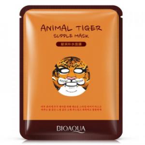 Маска-салфетка для лица BIOAQUA Animal Tiger Mask Тигр питательная 30 г