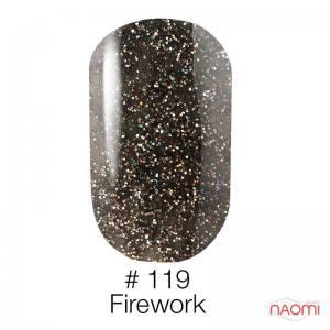 Гель-лак Naomi 119 Firework, 6 мл