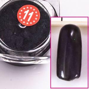 Магнитный пигмент кошачий глаз  Beauty nail №11 черный