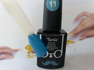 Гель-лак Tertio Baffo 10мл №11 темно-голубой