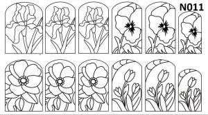 Слайдер-трафарет Sweet Bloom N011