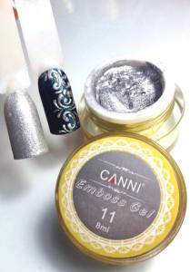 Гель-паста CANNI 8г №11 серебро