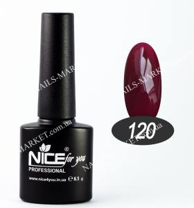 Гель-лак Nice 8.5мл №120 ягодный компот