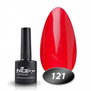 Гель-лак Nice 8.5мл №121 красная фасоль
