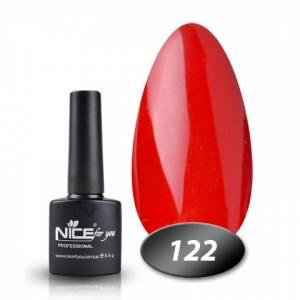 Гель-лак Nice 8.5г №122 рыже-красный