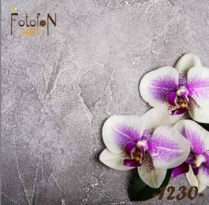 Фотофон виниловый 30см/30см Орхидеи №1230