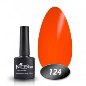 Гель-лак Nice 8.5мл № 124 рыжий